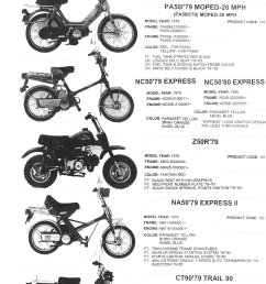 honda parts myrons mopeds1984 honda moped wiring diagram 15 [ 1541 x 2140 Pixel ]