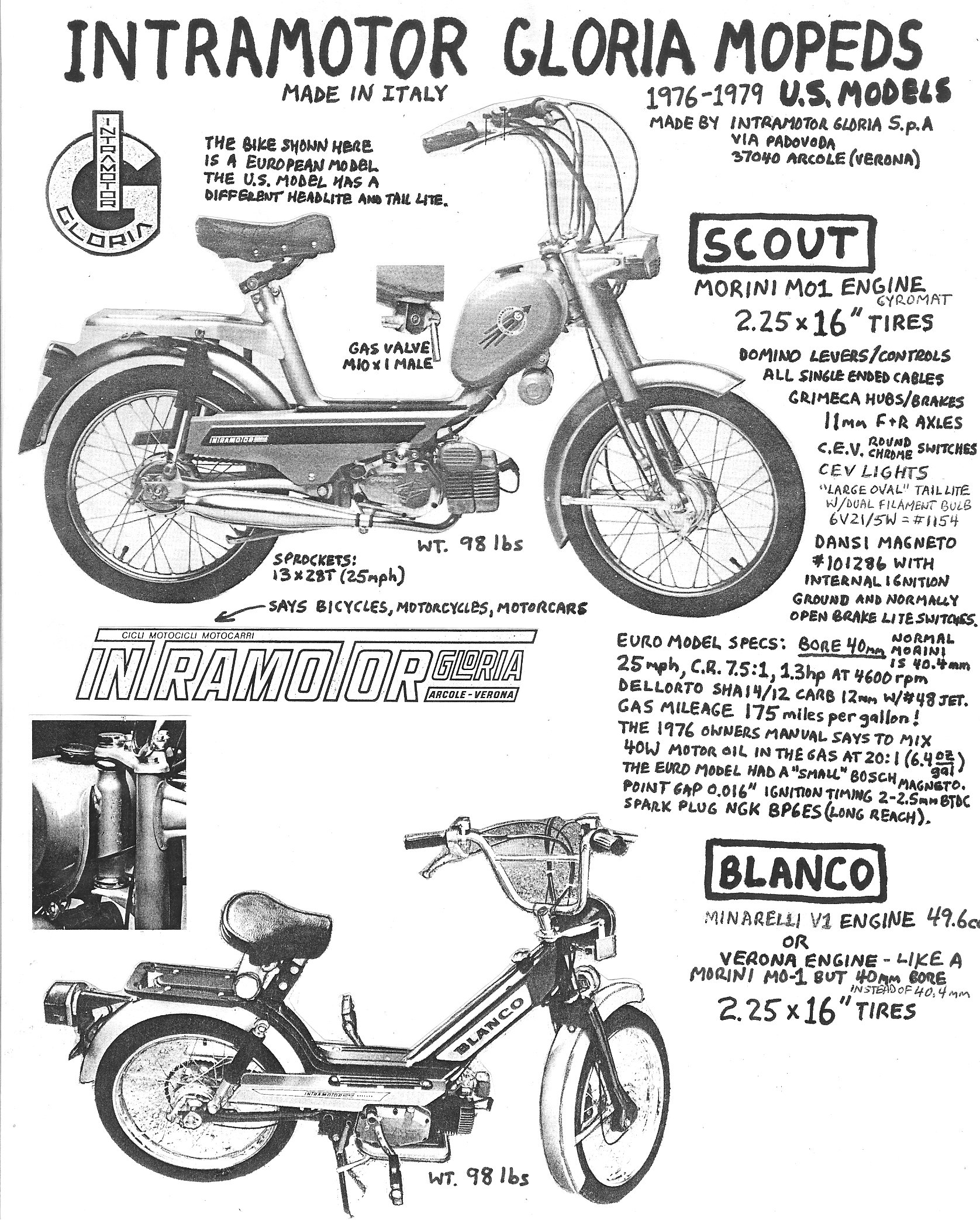 Intramotor Parts « Myrons Mopeds