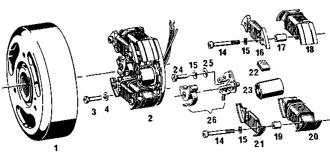Bosch and Iskra Magnetos « Myrons Mopeds