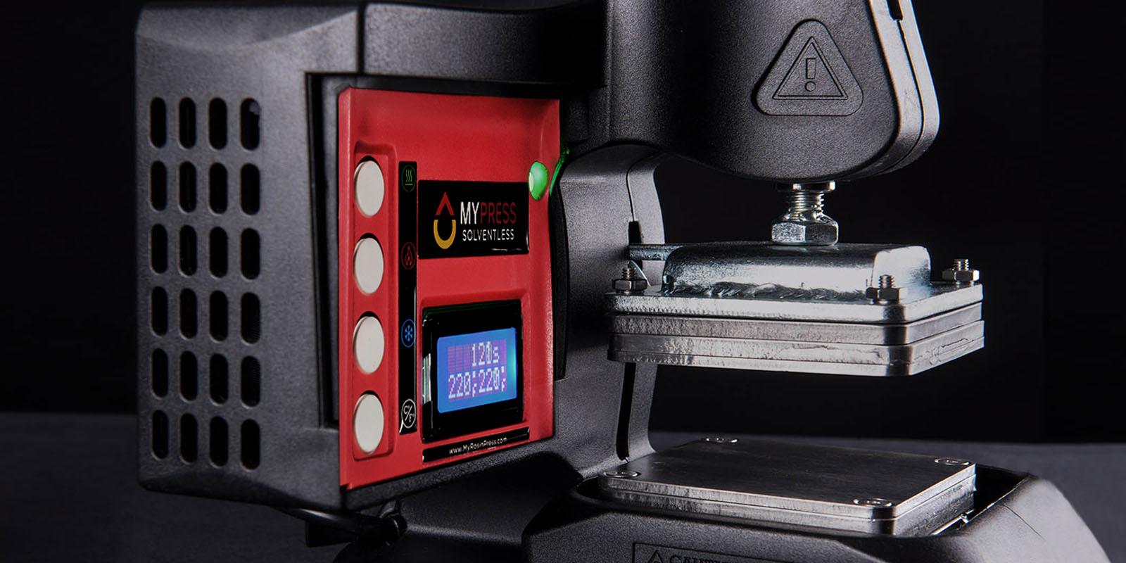Best Solventless Personal Rosin Press Easy • Portable • Lightweight • Efficient