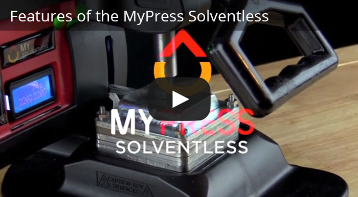 Video Placeholder -  Features of the My Press Solventless