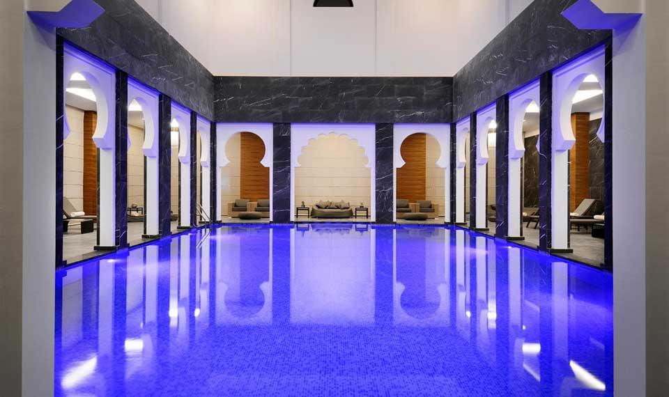 Ypominaniya Constantine Marriott Hotel Algeria Myrtha Pools