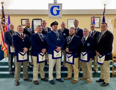 2020 Officers at Open Installation