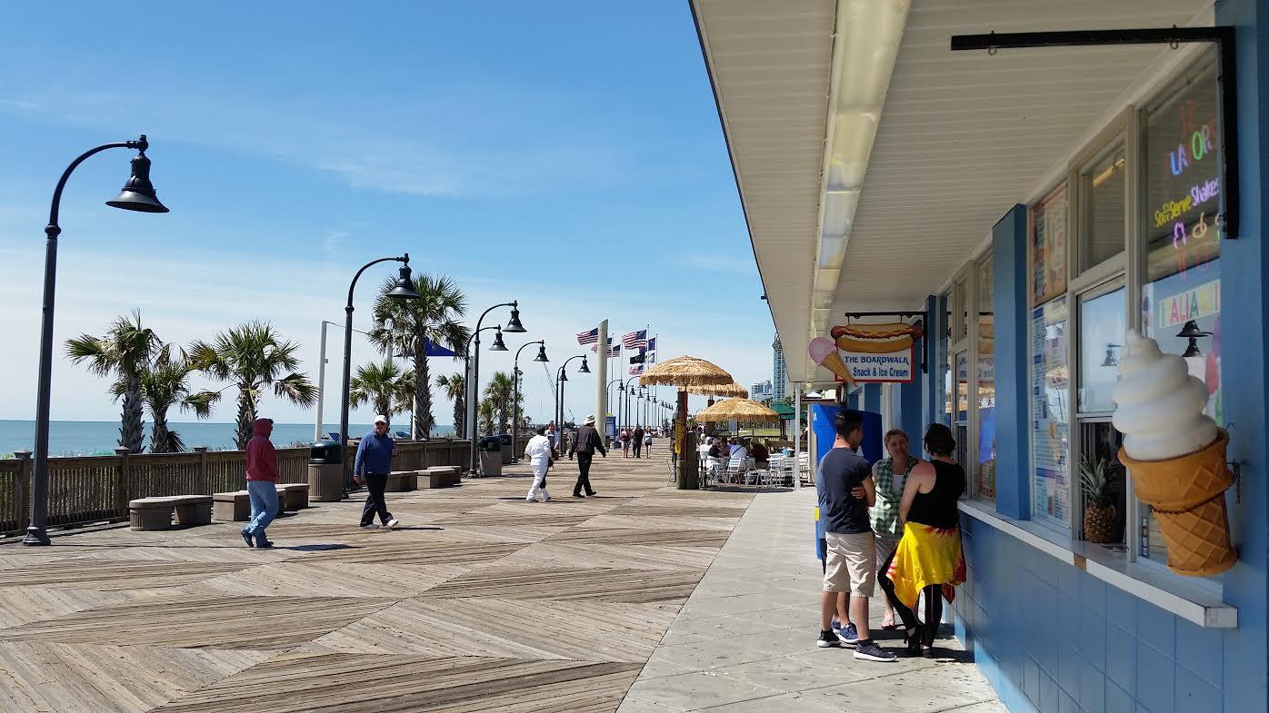 Eat Details  Myrtle Beach Boardwalk