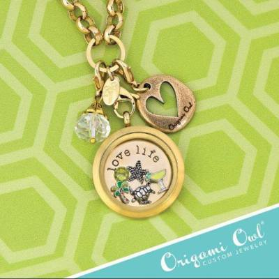 A back-to-school treat for moms – an Origami Owl giveaway!