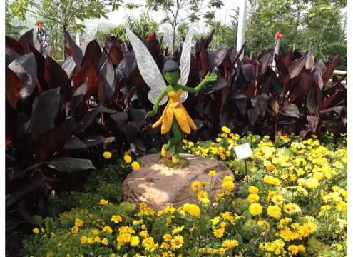 Iridessa at Disney World's International Flower & Garden Festival 2013