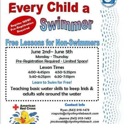 Summer Deals 2014: Canal Street Rec Centers offers free swim lessons