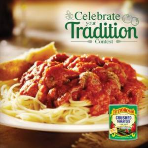 Enter to win amazing prizes in the 'Celebrate your Tradition' contest from Tuttorosso!