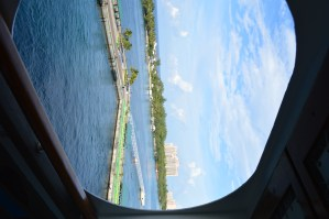 Our kid-free cruise on the Disney Wonder (Part 3: Our room and departure day)