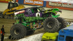 Monster Jam takes over the Myrtle Beach Speedway tonight and tomorrow