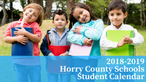 UPDATED 2018-2019 Horry County Schools Calendar