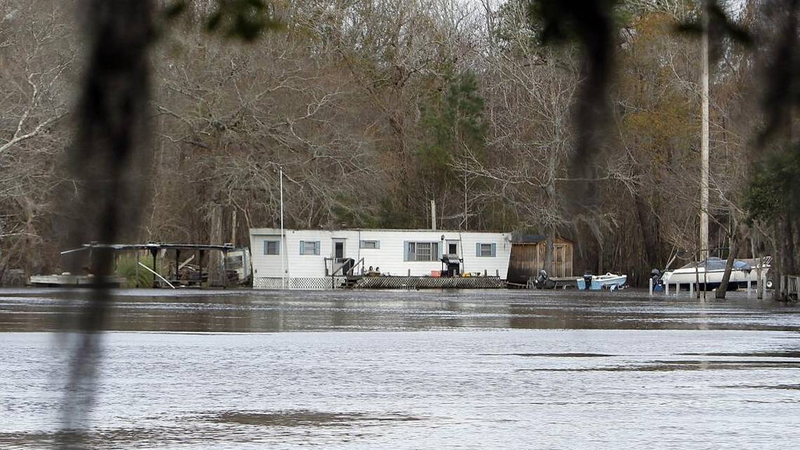 Hurricane Matthew to cause major flooding along Waccamaw River in Conway Longs  Myrtle Beach