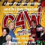 Discount on Advance Tickets to C4W Explosive Wrestling