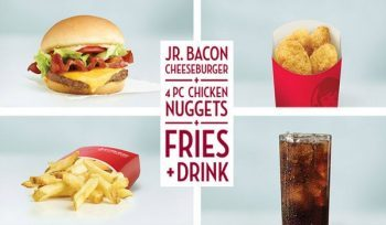 Wendy S Giant Jr Bacon Cheeseburger Meal Deal For 5 Myrtle Beach On The Cheap