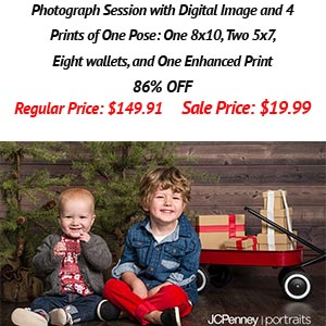 JCPenny Portraits Discount