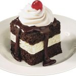 Shoneys FREE Hot Fudge Cake