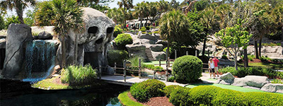 Captain Hook's Mini Golf Discount