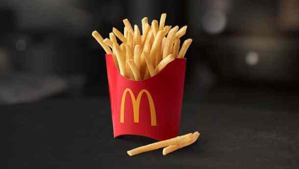 FREE medium fries every Friday at McDonald's