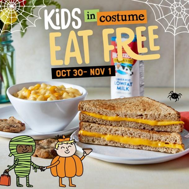 McAlister's Deli Kids Eat Free Halloween