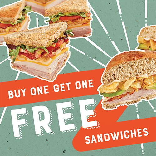 McAlister's Deli National Sandwich Day BOGO