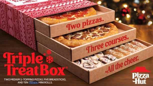 Pizza Hut Triple Treat Box Special