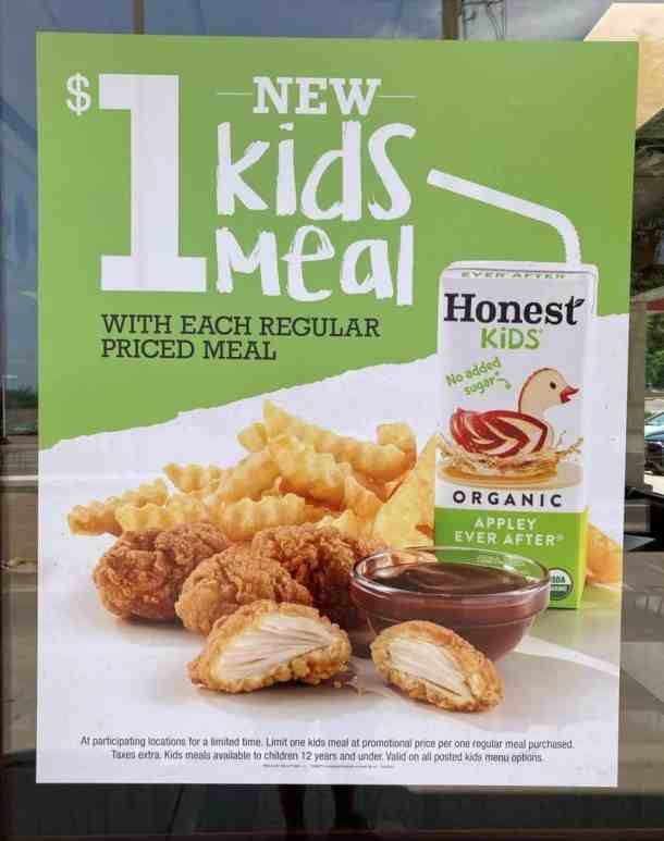 Arby's Kids Meal