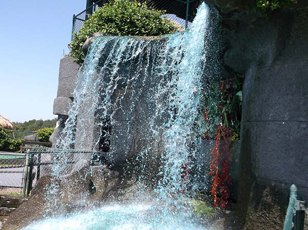 Mount Atlanticus waterfall