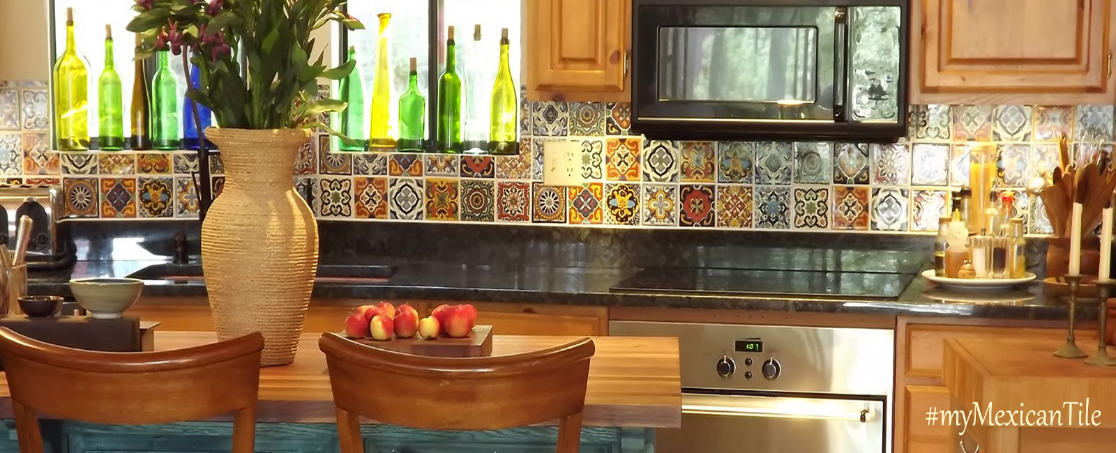Mexican Tiles for Kitchen Wall Backsplash  Bathroom