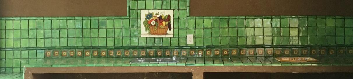 Kitchen Tile Murals  Mexican Tiles  Kitchen Bath  Stairs