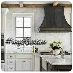 Kitchen Range Hoods Handmade Table Rustic