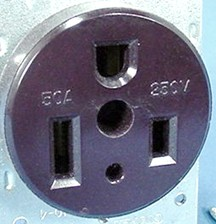how to wire a plug outlet diagram 6 way wiring the 50 amp 120 240 volt 3 pole 4