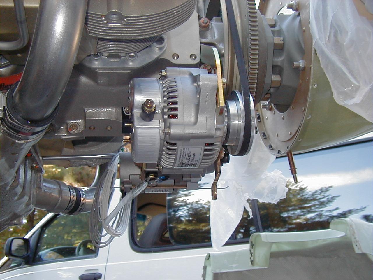 Old Alternator Wiring Diagram