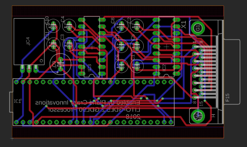 small resolution of it s packed in nice and tight but we actually had a version that was even tighter and had sockets for 2 max3222 s plus the rs422 ic s