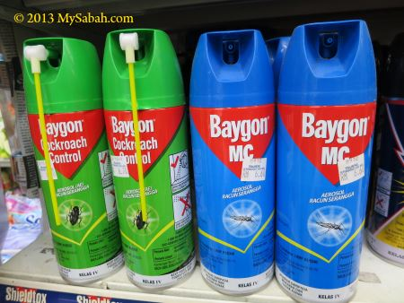Baygon insect spray