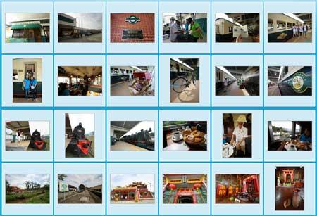 Photo gallery of North Borneo steam train