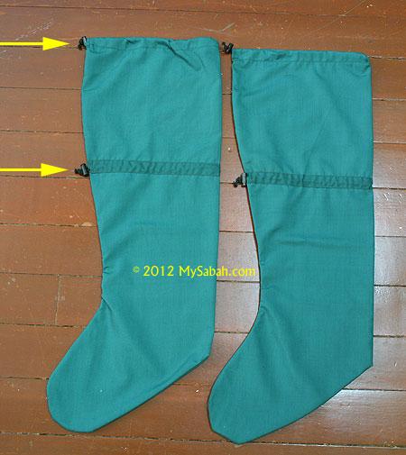 long leech socks