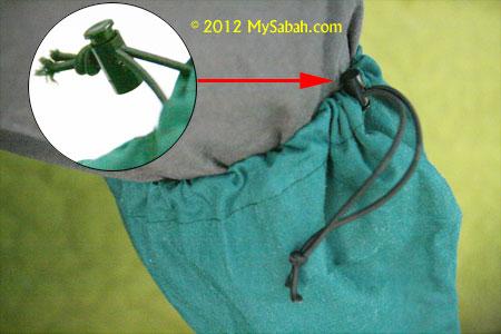 elastic strap of leech socks