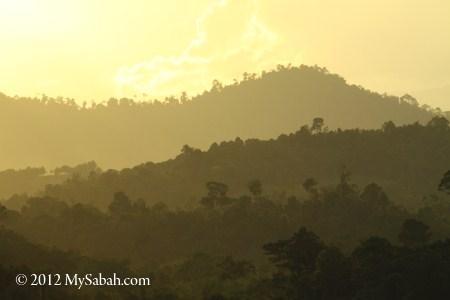 mountains of Telupid