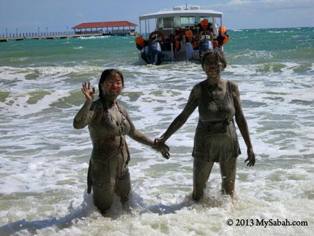 mud volcano fun