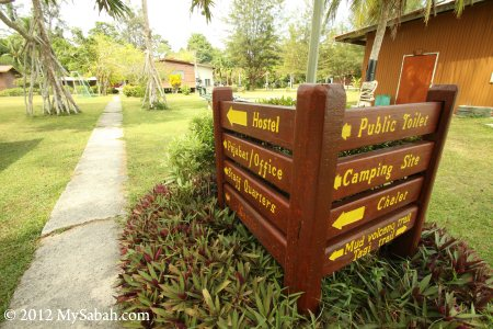 Sabah Parks compound
