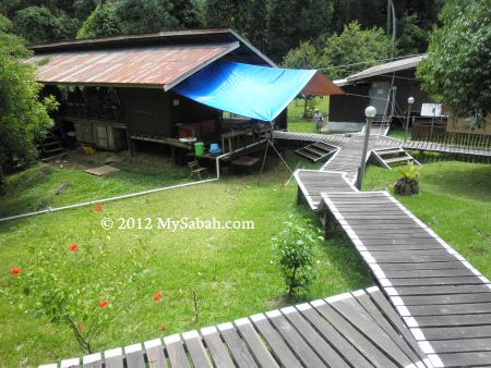 Tampoi Camp in Imbak Canyon