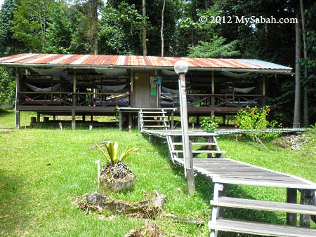 accommodation in Imbak Canyon