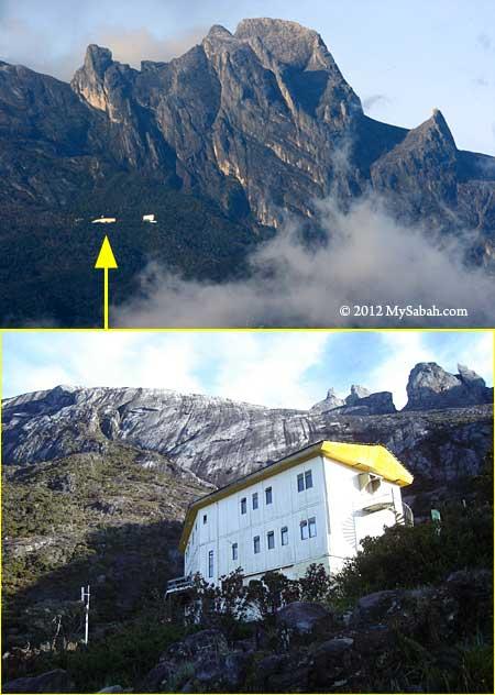 Laban Rata resthouse of Mt. Kinabalu