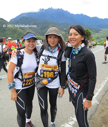 ladies runners of The Most Beautiful Thing (Ultra Trail Run)