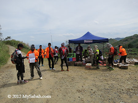 3rd Check Point and Water Station of TMBT