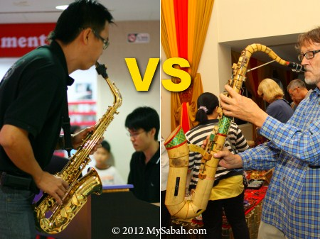 Bamboo Saxophone Vs Brass Saxophone