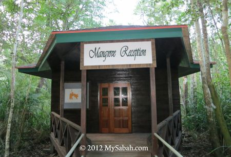 Mangrove Reception next to SLRC boardwalk