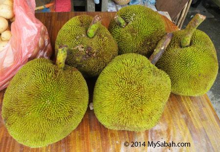 green tarap fruits