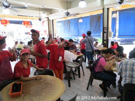 inside Kedai Kopi Jia Siang Coffee Shop