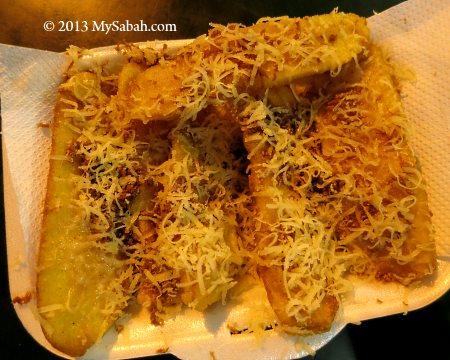 Pisang Goreng Cheese of Kota Kinabalu